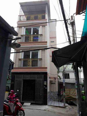 Bán nhà 57/ Nguyễn Văn Đậu