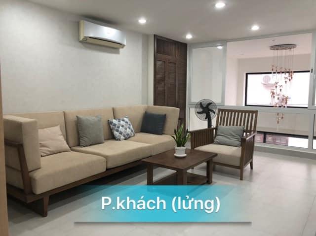 Phòng khách (tầng lửng) nhà bán hẻm 263 Nguyễn Văn Đậu